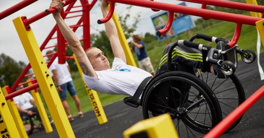workoutové hřiště pro vozíčkáře