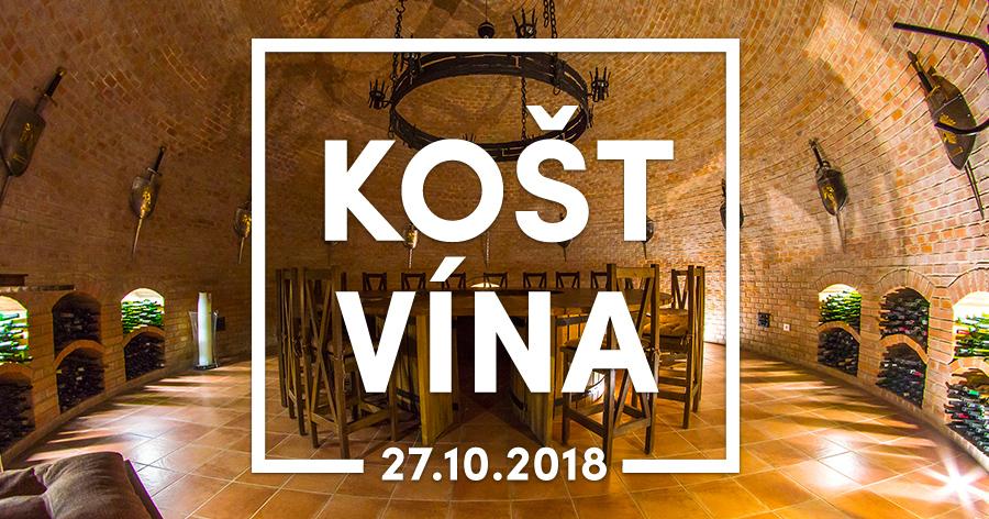 Košt vína s Fenixem 2018