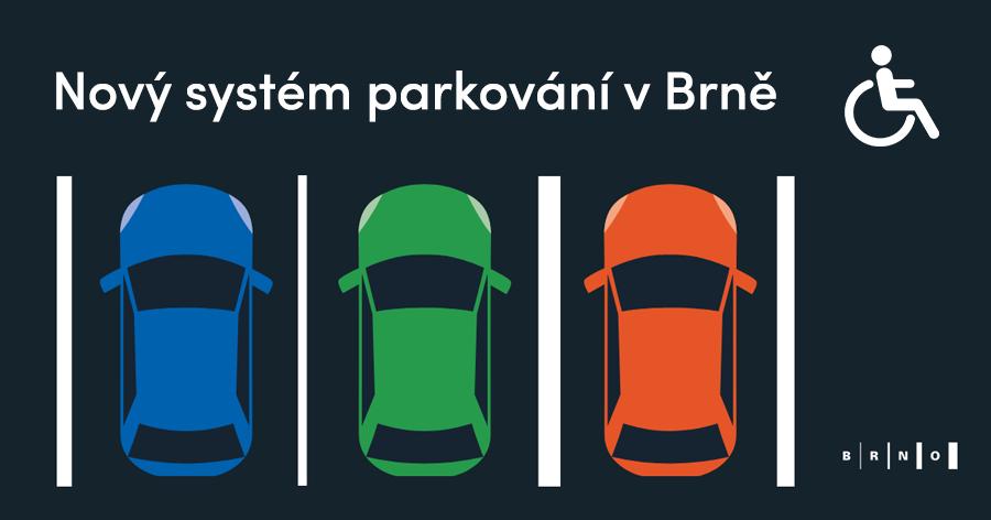 Rezidentní parkování v Brně ZTP