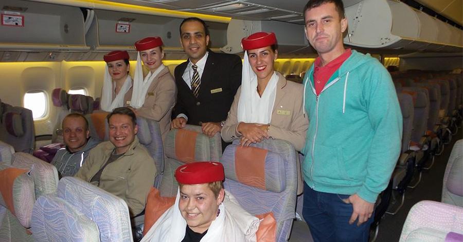 Cestování letadlem na vozíku