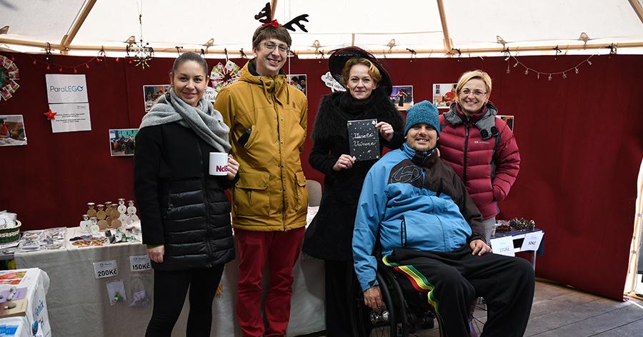 Adventní trhy na Moravském náměstí 2019