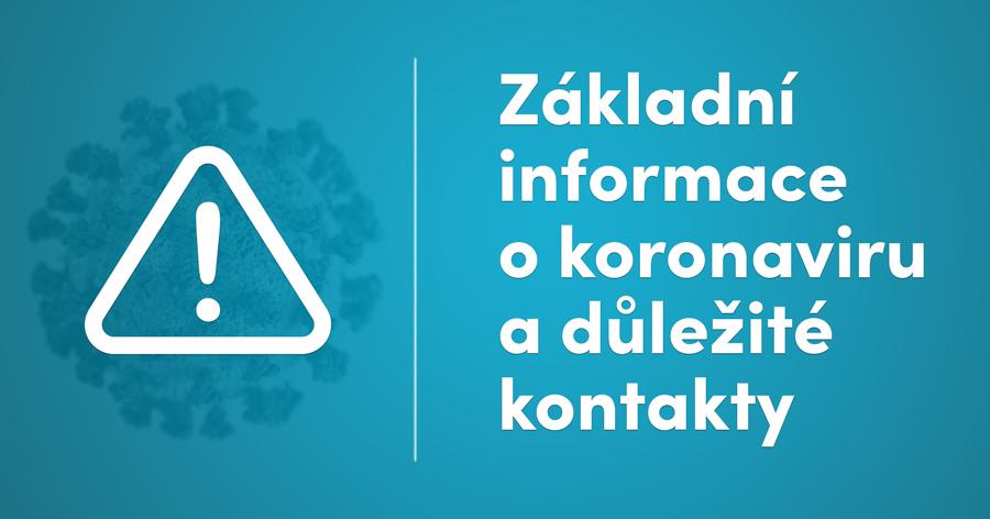 informace o koronaviru